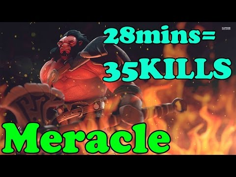 Dota 2 - Meracle 6.k MMR Plays Axe - Ranked Match Gameplay