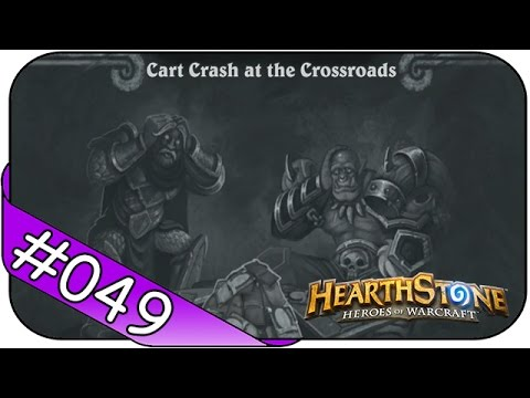 Hearthstone Tavern Brawl ► Cart Crash at the Crossroads ☯ Let's Play Kartenchaos