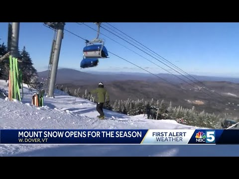 Under New Ownership, Mount Snow Opens For Winter Season