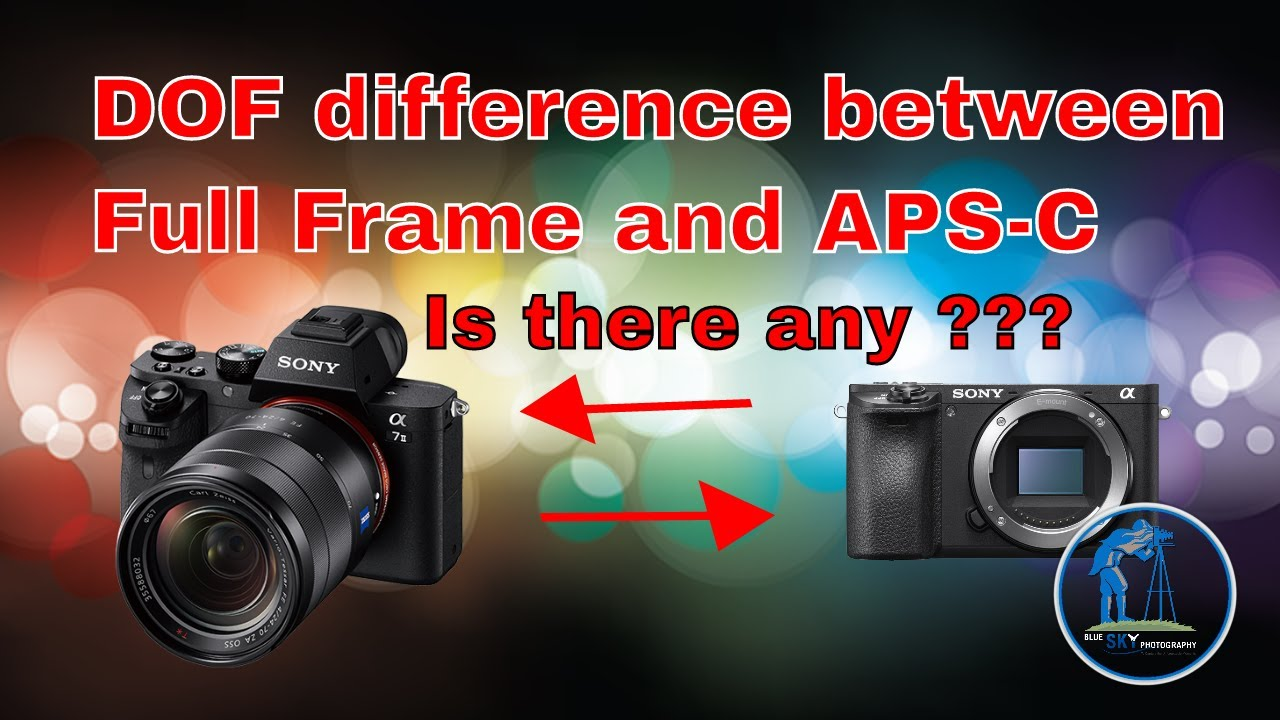 Depth of Field difference between Full Frame and APS-C camera. What ...