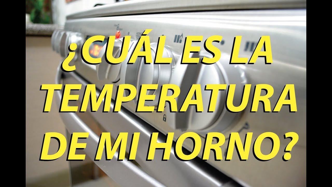 Como Saber La Temperatura De Mi Horno Vicky Receta Facil Youtube