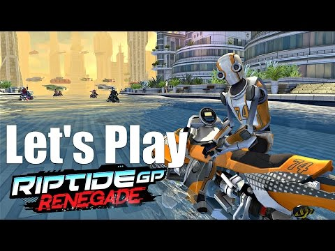 Let's Play Riptide GP Renegade (PS4/Steam) - Futuristic Water Racing