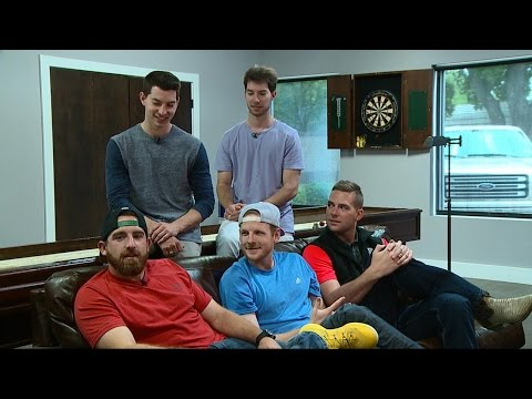 How Dude Perfect Pulls Off Epic Trick Shots | Nightline | ABC News