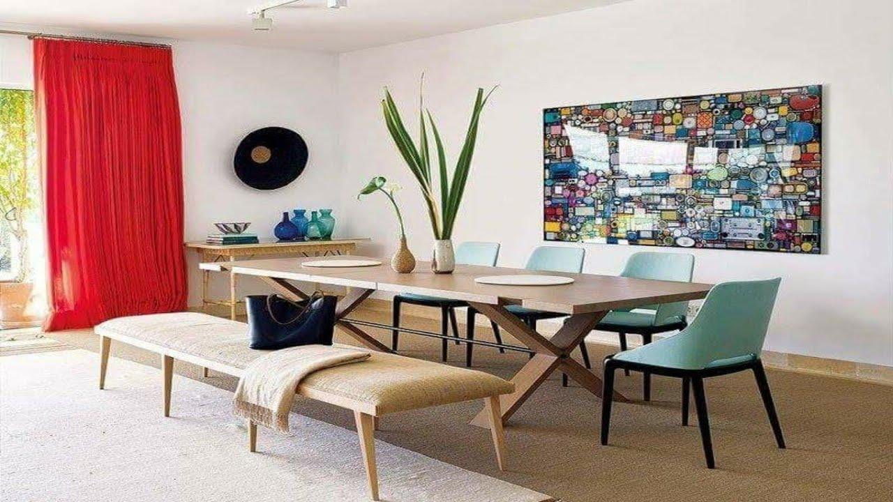 Top Dining Room Designs U0026 Decorating Ideas ||Dining Table Decoration || Interior  Design Of Dining