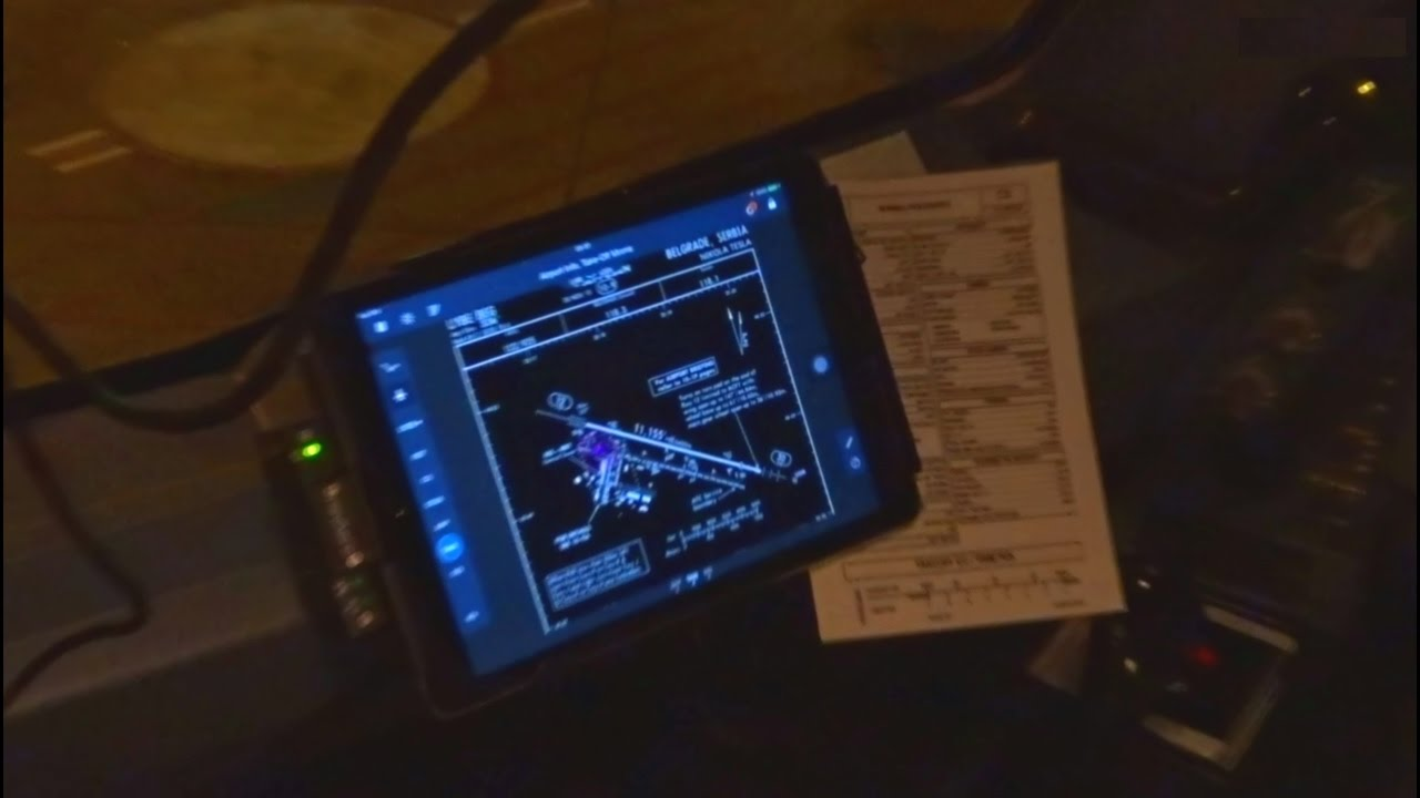 Air SERBIA Airbus A330 - Night Cockpit Tour - YouTube