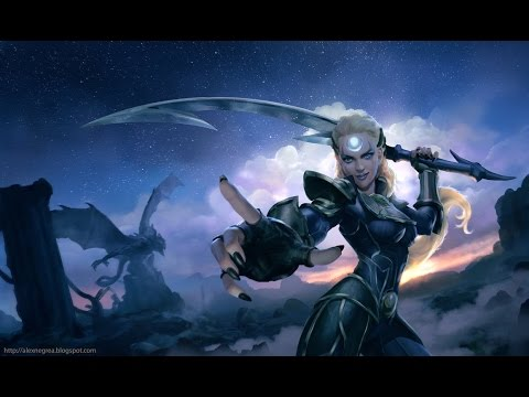 видео: league of legends Гайд Диана