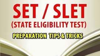 Preparation Tips & Tricks to Crack SET/SLET Exam