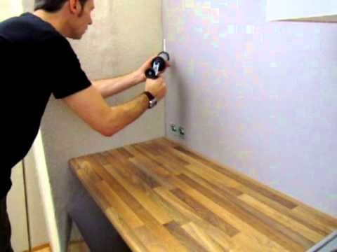 Montage Küchenrückwand - YouTube