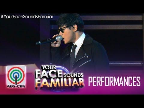 Your Face Sounds Familiar: Edgar Allan Guzman as Daniel Padilla -
