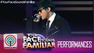 Your Face Sounds Familiar: Edgar Allan Guzman as Daniel Padilla -