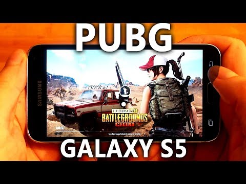 PUBG played on a real Samsung Galaxy S5