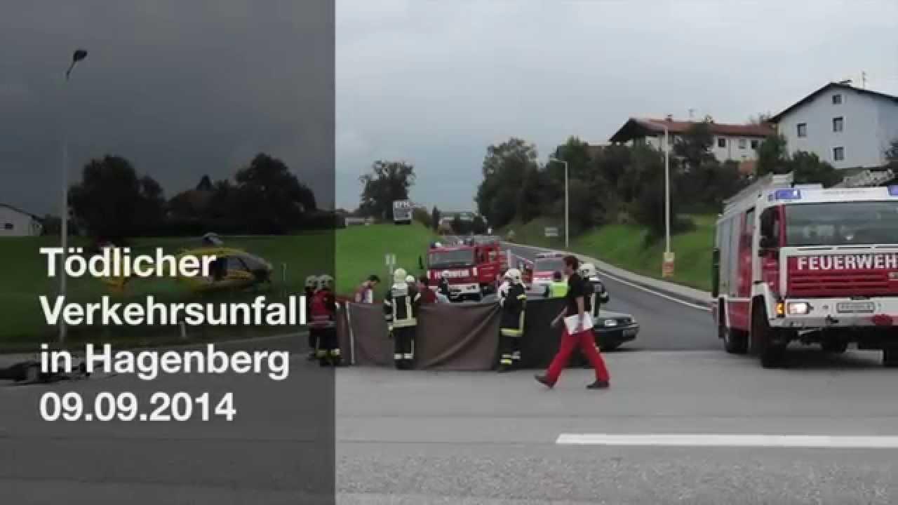 Tödlicher Verkehrsunfall in Hagenberg - YouTube