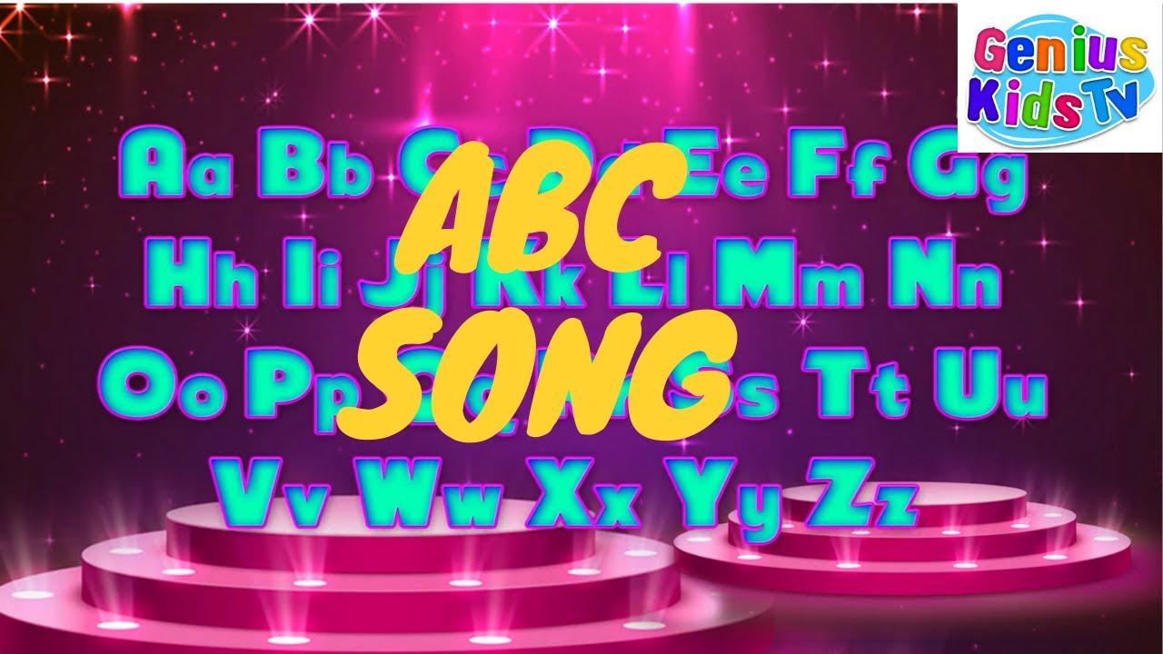 ABC Song | Alphabet Song | Kids Learning | Phonics Song & Children Songs - Genius Kids TV.