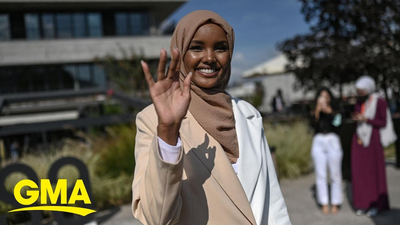 Supermodel Halima Aden returns to fashion on her terms