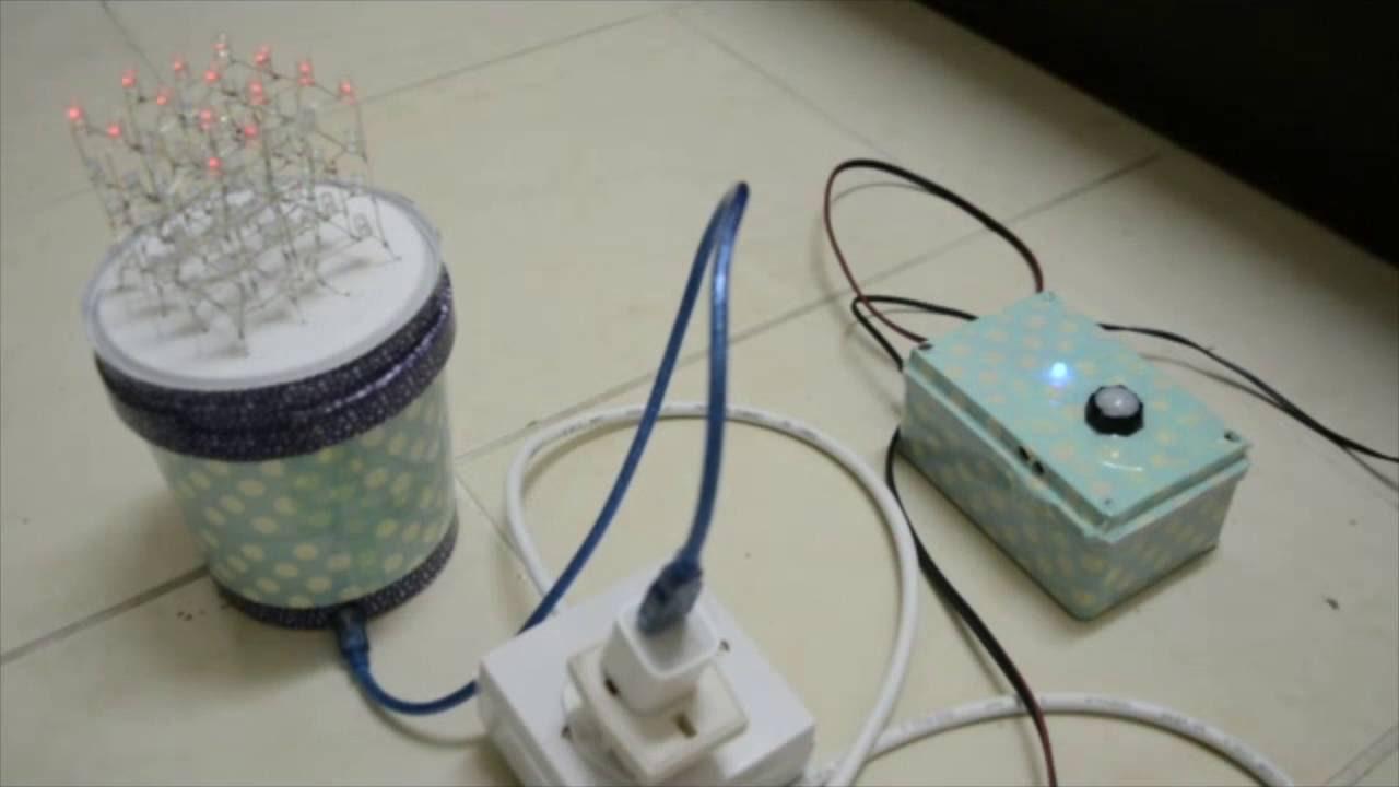 Diy Multi Purpose Motion Sensor Circuit Youtube Ir Detector