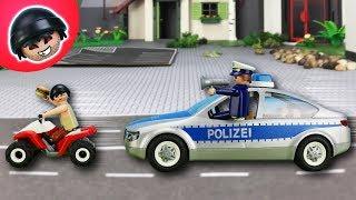 24 Stunden lang NEIN SAGEN CHALLENGE - Playmobil Polizei Film - KARLCHEN KNACK #132