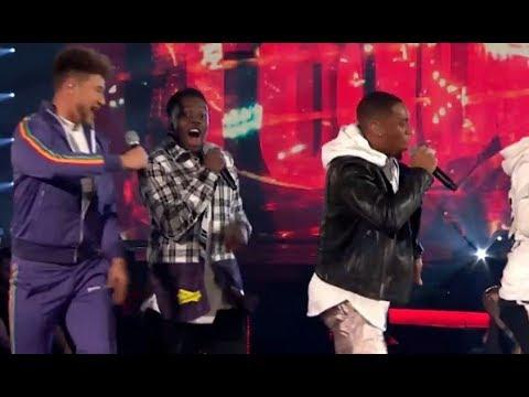 Rak-Su: Simon Tries To Speak But CROWD GOES WILD!!! | The Final | The X Factor UK 2017