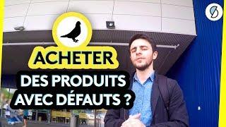 Acheter des produits avec défauts, ça vaut le coup ? (Le Test) - #ONPDP
