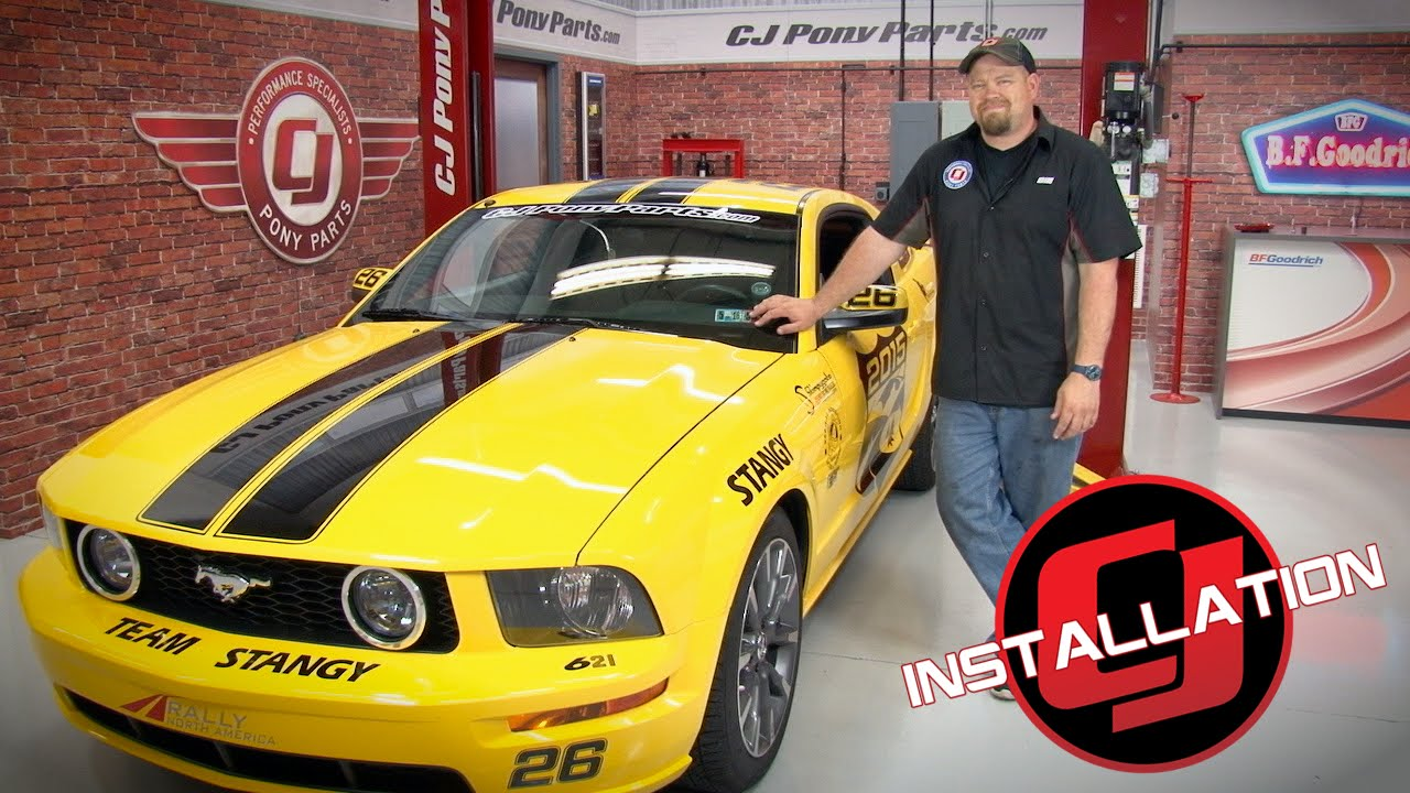Mustang Gt Ford Racing Handling Pack Assembled Coupe 2005