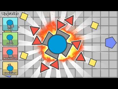 DIEP.IO | THE BEST CLASS IN THE GAME (OVERLORD) | BEST STRATEGY TIPS AND TRICKS