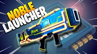 YOU *NEED* TO GET THIS ONE   NOBLE LAUNCHER Fortnite Save the World Gameplay Review   Neon Set