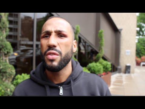 JAMES DeGALE - 'I CANT RESPECT A MAN THAT SPITS AT ME?! TALKS MEDINA, BADOU JACK & EDDIE HEARN