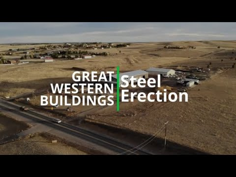 how-to-build-a-steel-building---erecting-the-steel