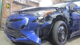 Toyota Prius. Body repair. Ремонт кузова.