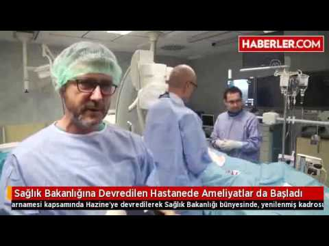 Kartal Dr Lütfi Kırdar Eğitim ve Araştırma Hastanesi Dragos Ek Binasında Ameliyatlar Başladı.