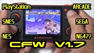 RG 350 review & emulation testing with CFW V1.7