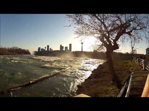 Niagra Falls, New York , Road Trip With Mersedez-Benz GLK-350 4matic