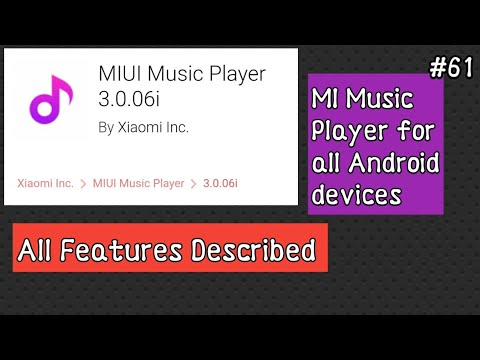 New Awesome Music player in Xiaomi Devices( MIUI ) all features | Hindi