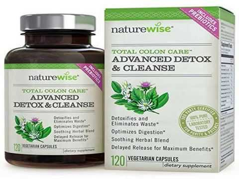 Weight Loss Pills Total Colon Care Advanced Detox & Cleanse with Digestive Enzymes