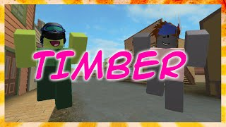 Timber - Roblox Music Video By FUDZ thumbnail