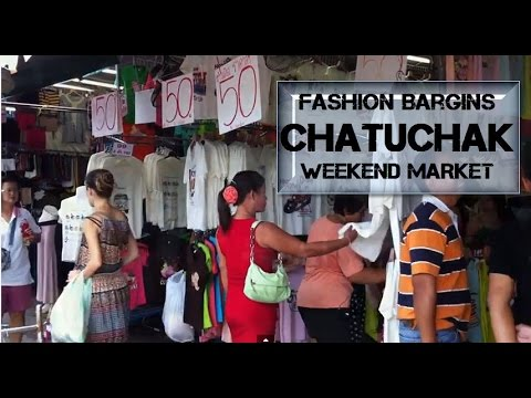 Fashion Bargins at Chatuchak Weekend Market