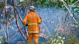 Out-of-control Fires Burn In NSW And Queensland.