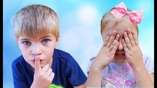 Kids pretend play Hide and seek Прятки