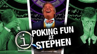 QI  Poking Fun At Stephen