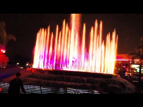 Fountain of Nations Show - Epcot - Walt Disney World, Florida