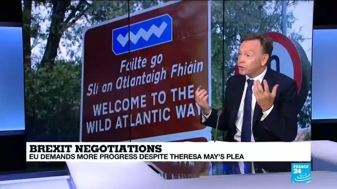 فرانس 24:Brexit talks: how would a hard Irish border affect residents?