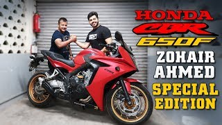 Living with it Ep. No. 7 | Honda CBR 650F | Feat. Zohair Ahmed