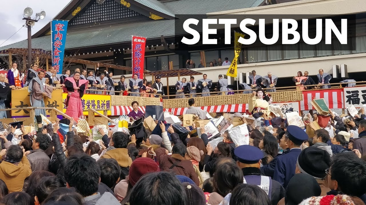 setsubun 2018 the biggest bean throwing day festival in