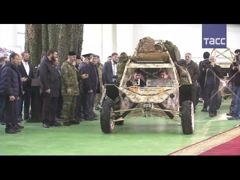 """Кадыров провел тест-драйв военного багги """"Чаборз"""""""