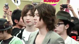 山下智久(山P)@松山空港(2011.05.20) 山下智久在台灣的演唱會一路上風...