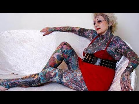 Thinking of getting a tattoo Photos of inked seniors show how body art endures the passage of time