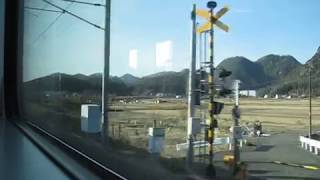 2017 12 車窓・JR山陽本線 227系・三原~河内