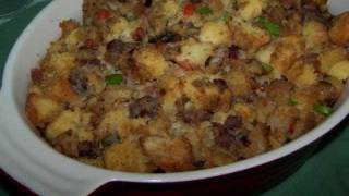 Cornbread Stuffing - Gluten Free