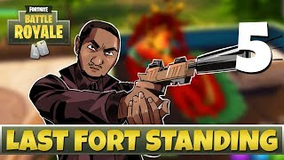 [5] Last Fort Standing (Let's Play Fortnite: Battle Royale w/ GaLm and friends)