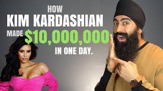 How Kim Kardashian Made $10,000,000 In One Day