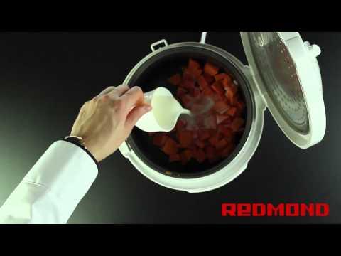 Тыквенная каша в мультиварке REDMOND RMC-4503